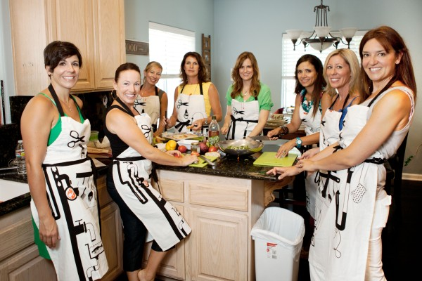Cooking parties are perfect for girls night out, showers, book club meetings and more!